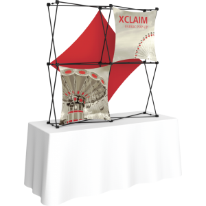 Xclaim 5ft Tabletop Fabric Popup Display Kit 03